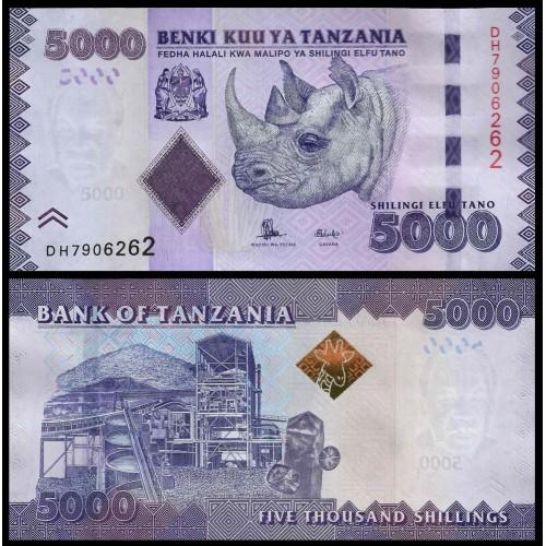 TANZANIA 5000 Shilingi 2015