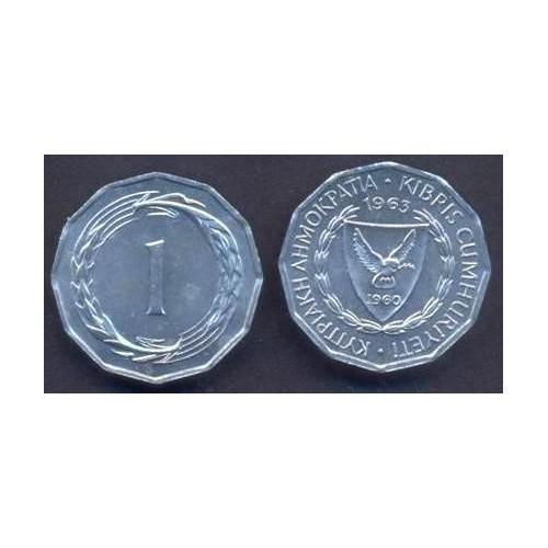 CYPRUS 1 Mil 1963