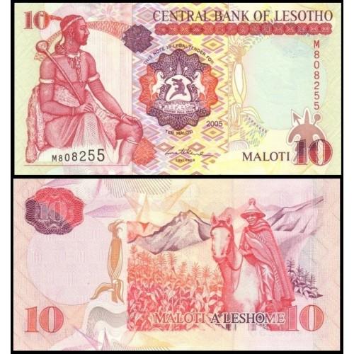 LESOTHO 10 Maloti 2005