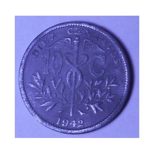 BOLIVIA 10 Centavos 1942