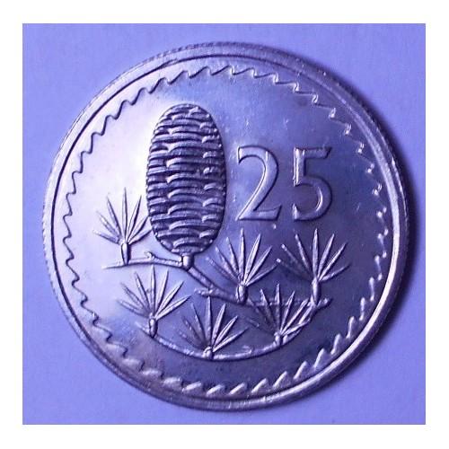 CYPRUS 25 Mils 1982