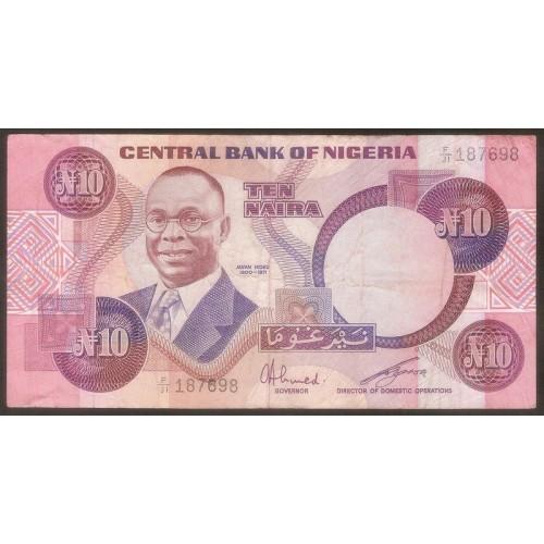 NIGERIA 10 Naira 1979