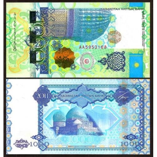 KAZAKHSTAN 1000 Tenge 2011...