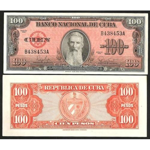 CUBA 100 Pesos 1959