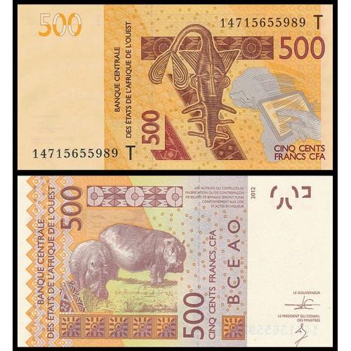 TOGO (W.A.S.) 500 Francs 2014