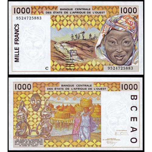 BURKINA FASO (W.A.S.) 1000...