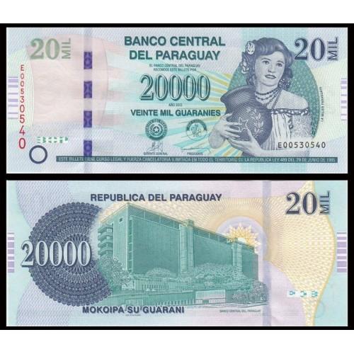 PARAGUAY 20.000 Guaranies 2013