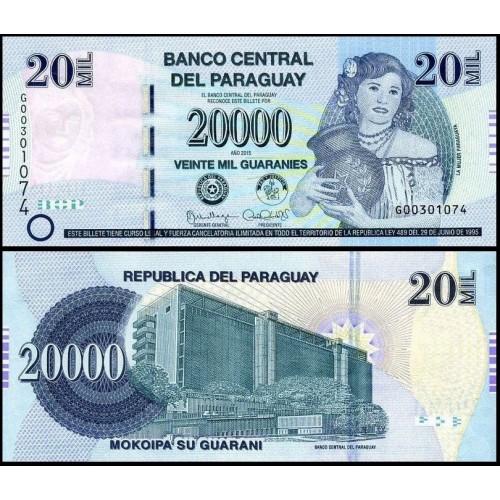 PARAGUAY 20.000 Guaranies...