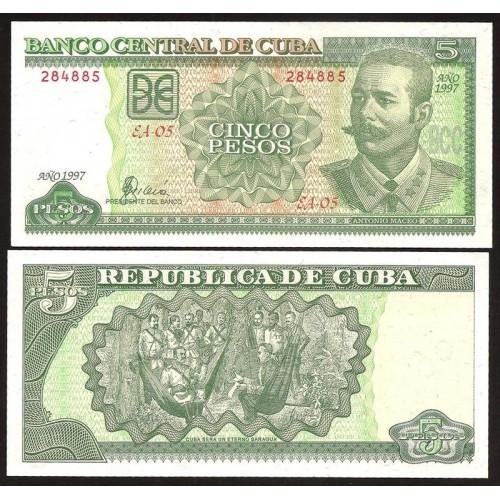CUBA 5 Pesos 1997