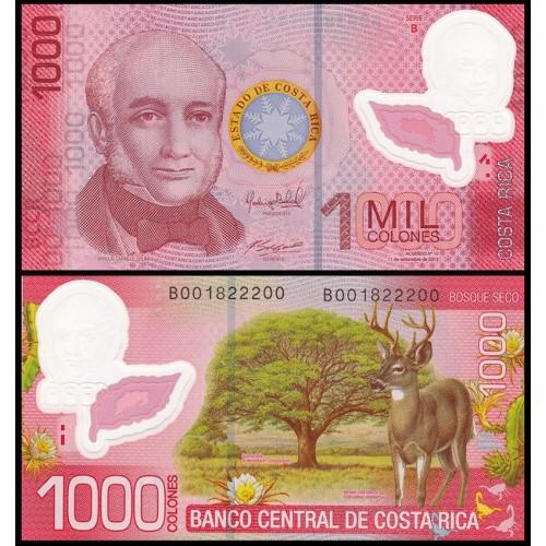 COSTA RICA 1000 Colones...