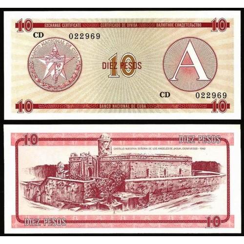 CUBA 10 Pesos 1985