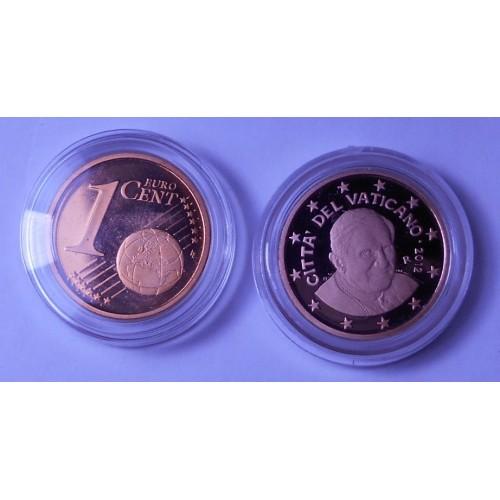 VATICANO 1 Euro Cent 2012...