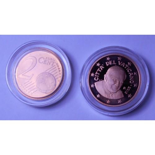 VATICANO 2 Euro Cent 2012...