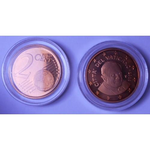 VATICANO 2 Euro Cent 2008...