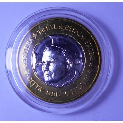 VATICANO 1 Euro 2002 Pope...