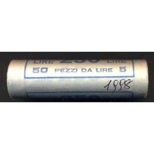 Rotolino 5 Lire 1998