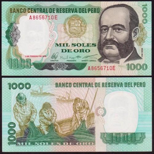 PERU 1000 Soles de Oro 1979