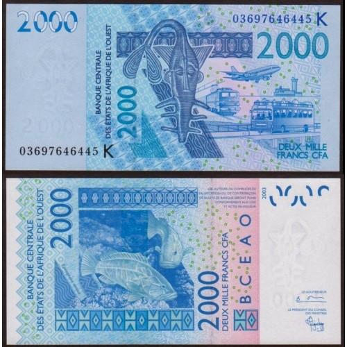 SENEGAL (W.A.S.) 2000...