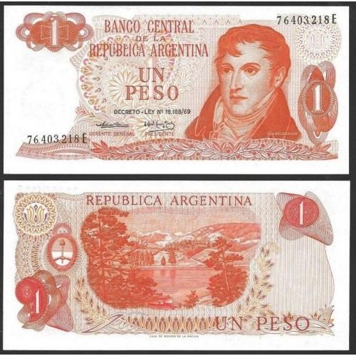 ARGENTINA 1 Peso 1974
