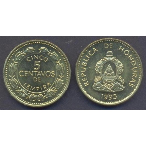 HONDURAS 5 Centavos 1995
