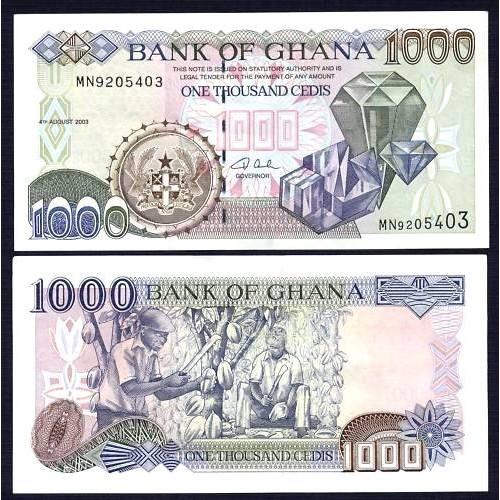 GHANA 1000 Cedis 2003