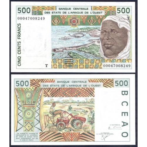 TOGO (W.A.S.) 500 Francs 2000