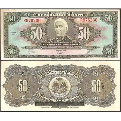 HAITI 50 Gourdes 1986