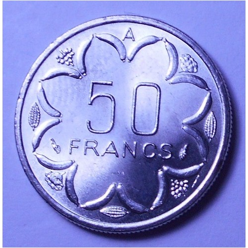 CENTRAL AFRICAN STATES 50...