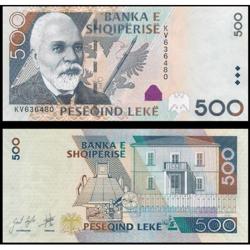 ALBANIA 500 Leke 2015