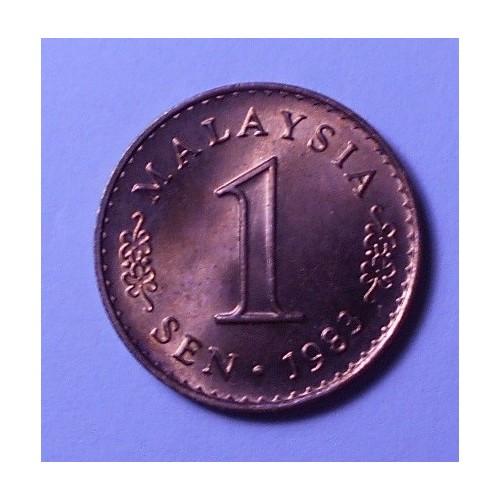MALAYSIA 1 Sen 1983