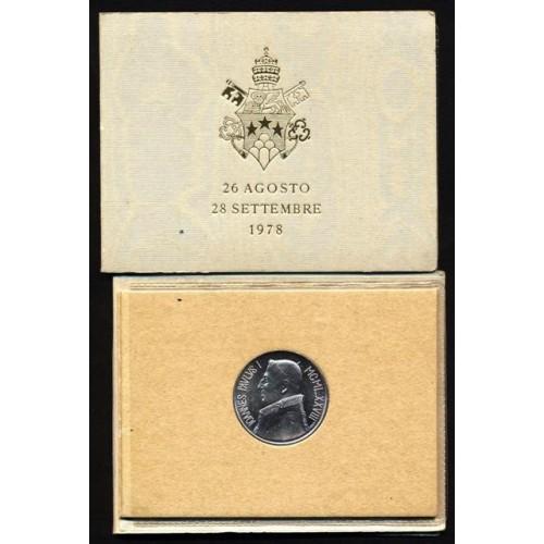 VATICANO 1000 Lire 1978 AG...