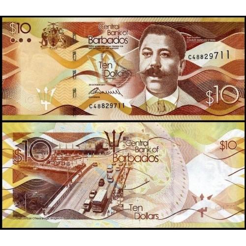 BARBADOS 10 Dollars 2017