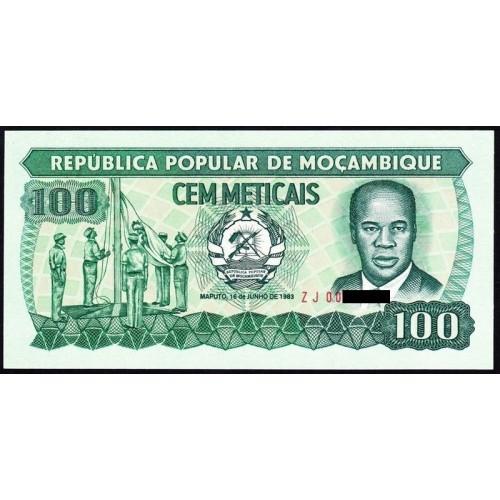 MOZAMBIQUE 100 Meticais...