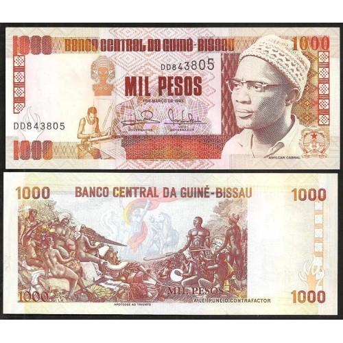 GUINEA BISSAU 1000 Pesos 1993