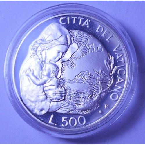 VATICANO 500 Lire 1995 Anno...