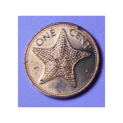 BAHAMAS 1 Cent 1984
