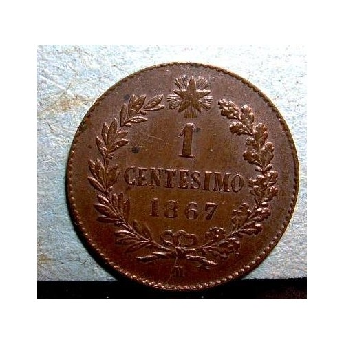 1 Centesimo 1867 M