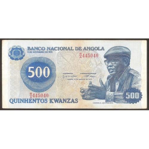 ANGOLA 500 Kwanzas 1979