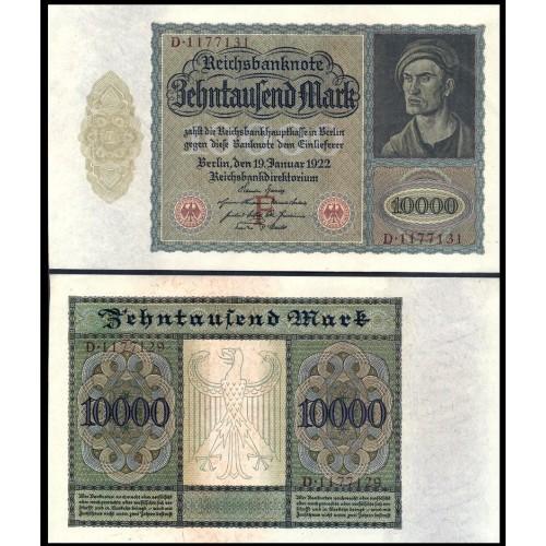 GERMANY 10.000 Mark 1922...