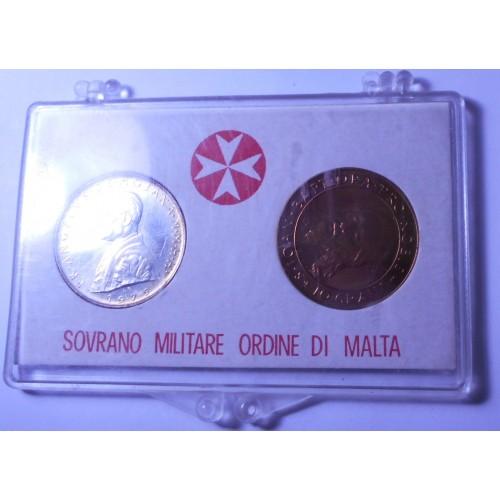 S.M.O.M. Set coins 1975