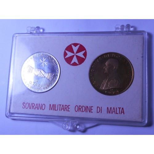 S.M.O.M. Set coins 1974