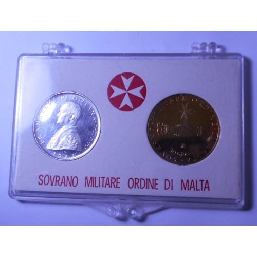 S.M.O.M. Set coins 1973