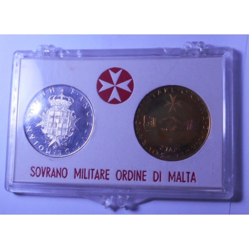S.M.O.M. Set coins 1968