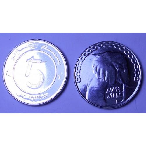 ALGERIA 5 Dinars 2006...