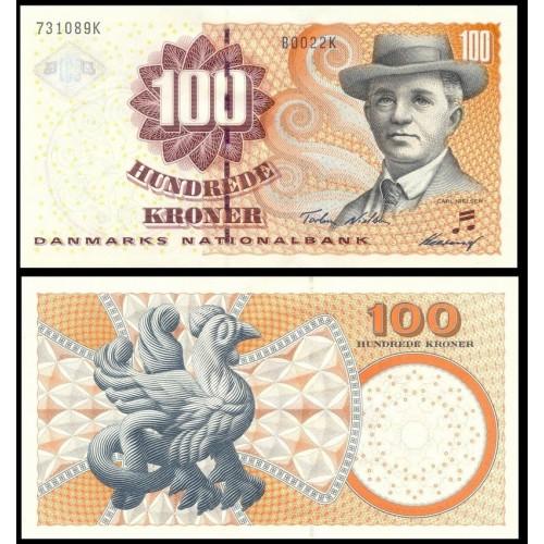 DENMARK 100 Kroner 2002