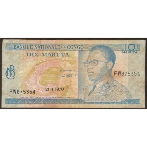 CONGO DEMOCRATIC 10 Makuta...