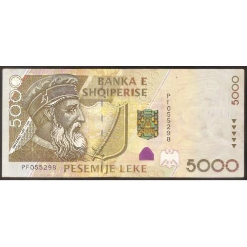 ALBANIA 5000 Leke 2001
