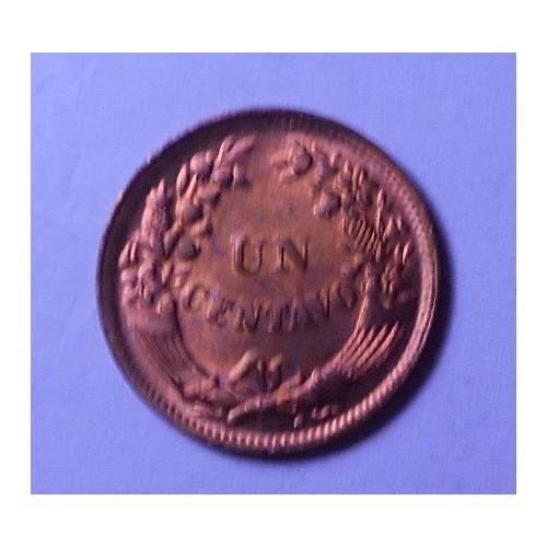 PERU 1 Centavo 1949