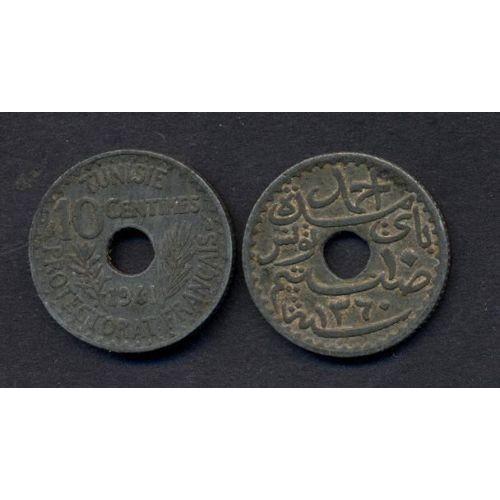 TUNISIA 10 Centimes 1941