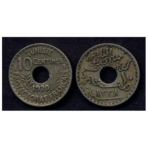 TUNISIA 10 Centimes 1920